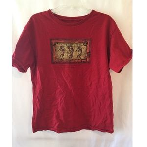 Grand Canyon Red Unisex Tee T Shirt Mens M Cotton